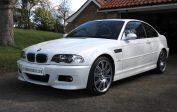 BMW M3 E46 SMG Coupe White - For Sale - 2,250 miles - Shmoo Automotive Ltd
