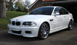 BMW M3 E46 SMG Coupe White - For Sale - 2,250 miles - Shmoo Automotive Ltd