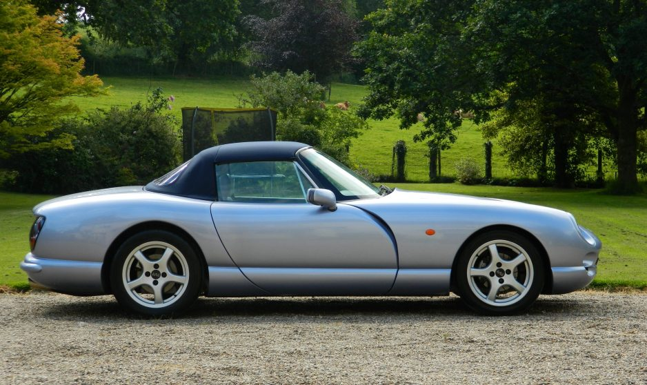 TVR Chimaera 400 PAS - New Outriggers - For Sale - Shmoo Automotive Ltd