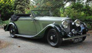 1934 Derby Bentley 3 ½ Litre Hooper Bodied Drophead Coupe. FOR SALE Shmoo Automotive