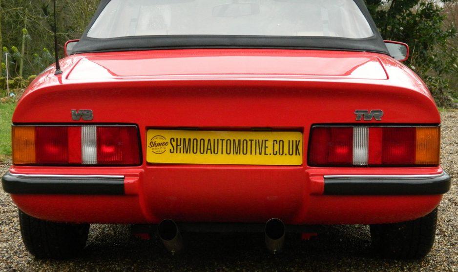 TVR V8S - www.shmooautomotive.co.uk