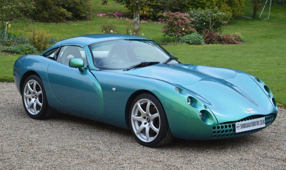TVR Tuscan MK1 3600cc Chameleon Green - www.shmooautomotive.co.uk
