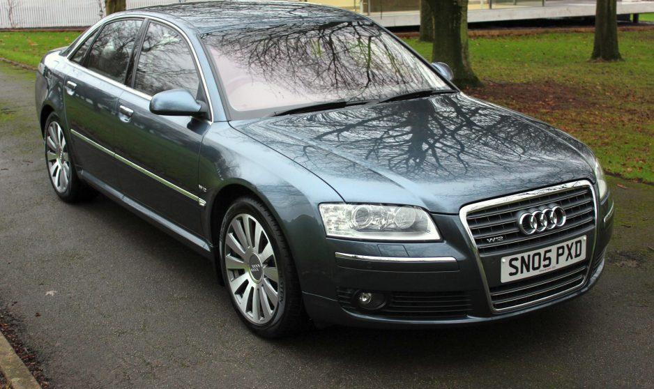 Audi A8 W12 6.0 SWB - Shmoo Automotive Ltd