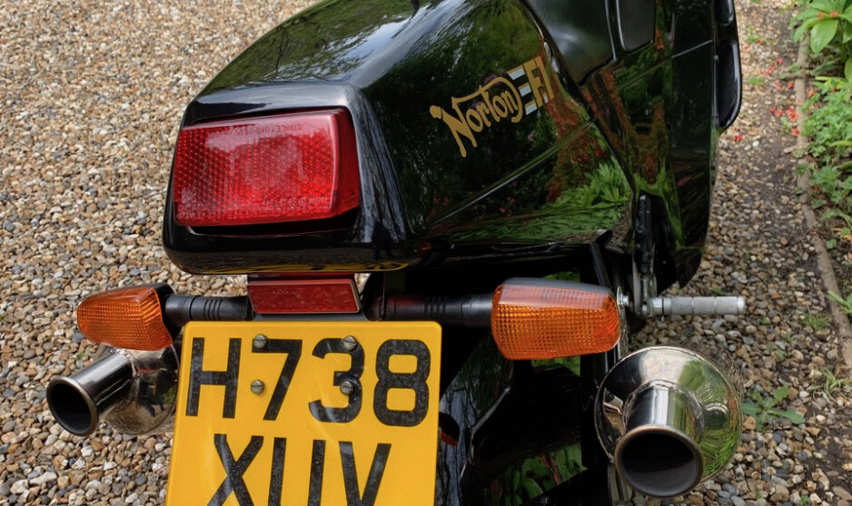 Norton F1 Rotary 600cc - Shmoo Automotive Ltd